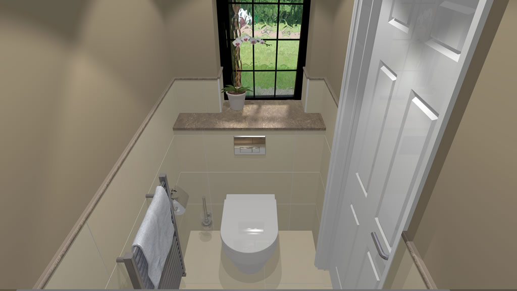 Oxshott Village Ceramics Cloakroom Designs