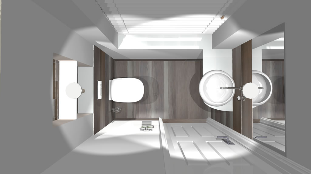 Oxshott village ceramics cloakroom designs 3 - Cloakroom design ideas home ...