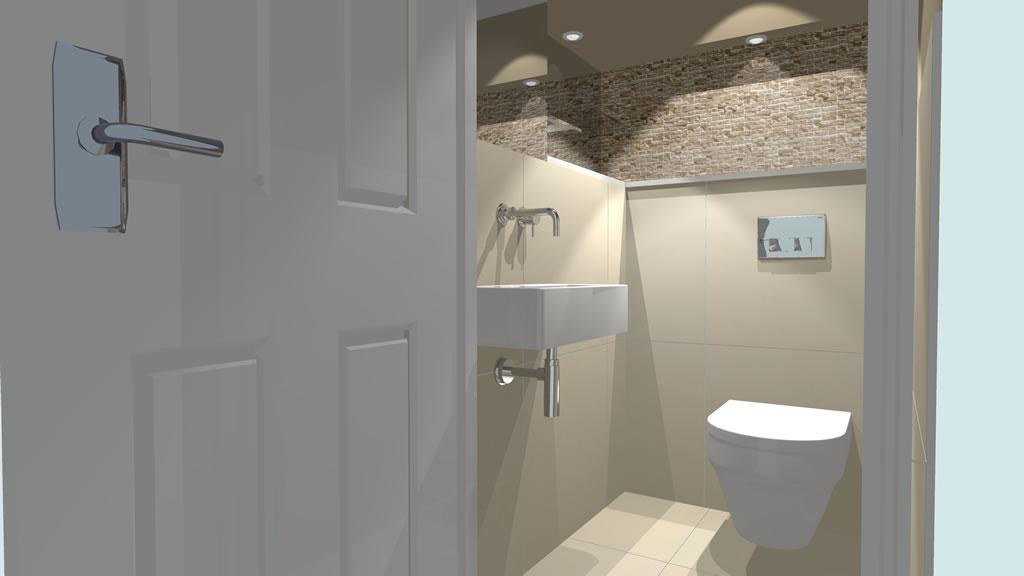 Oxshott village ceramics cloakroom designs 5 - Cloakroom design ideas home ...
