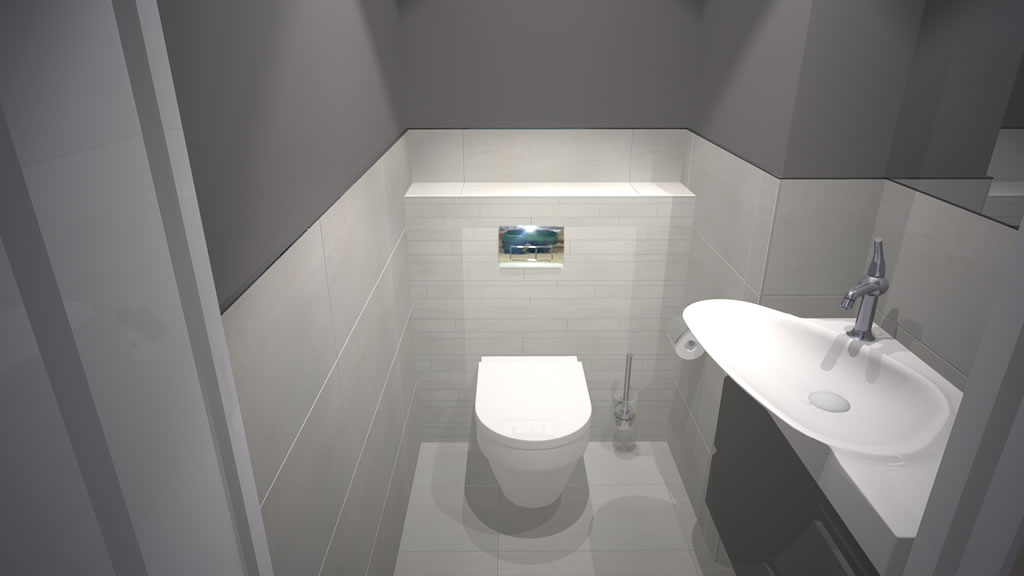 Oxshott Village Ceramics Cloakroom Designs 3