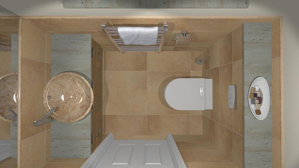 Oxshott Village Ceramics Cloakroom Designs 5